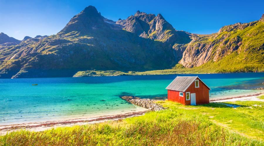 Rorbu Lofoten, Viaggio fly&drive in Norvegia