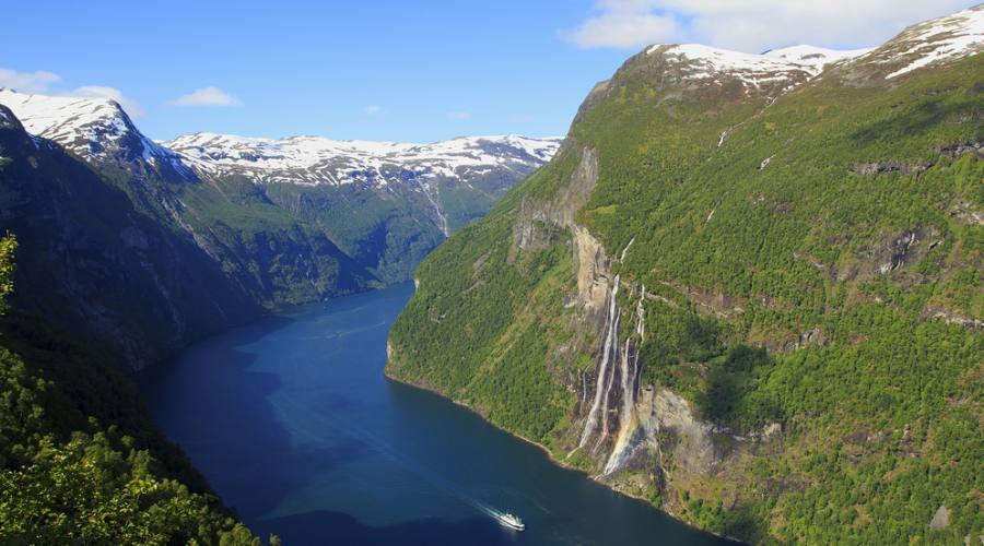 Geiranger, Viaggio fly&drive in Norvegia