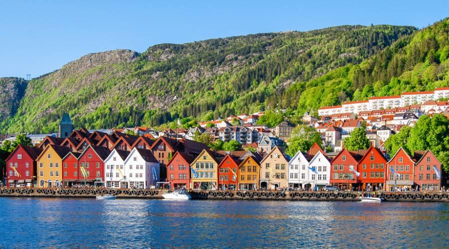 Bergen, Viaggio fly&drive in Norvegia