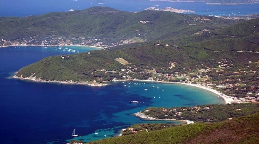 Veduta dell'Isola d'Elba