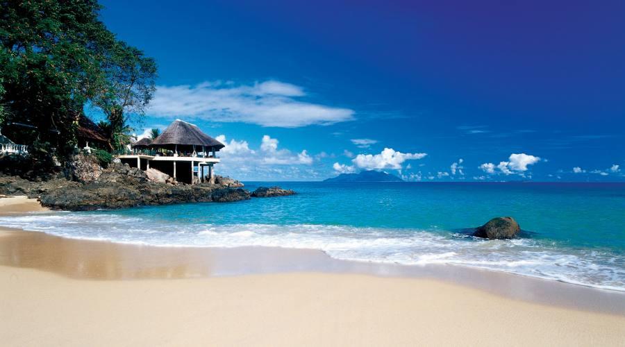 Mahe' - La spiaggia del Sunset Beach 4 stelle