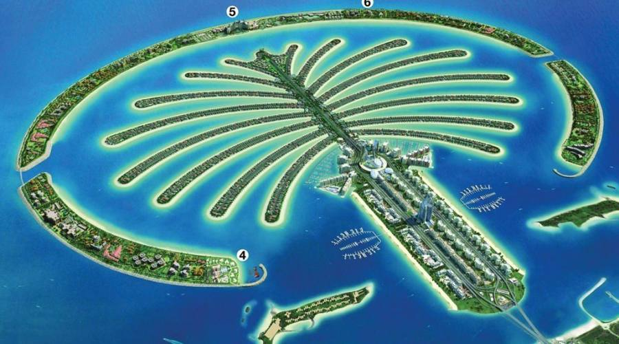 Dubai The Palm Jumeirah