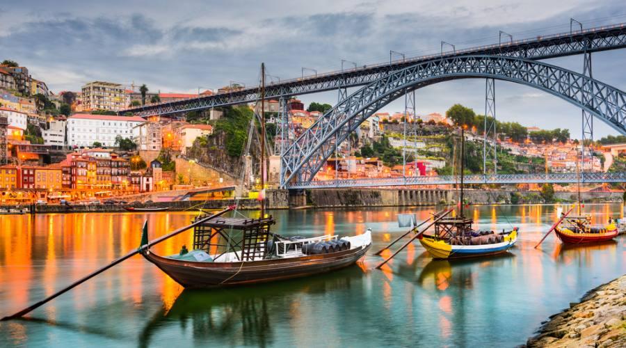 Porto, ponte sul fiume Douro