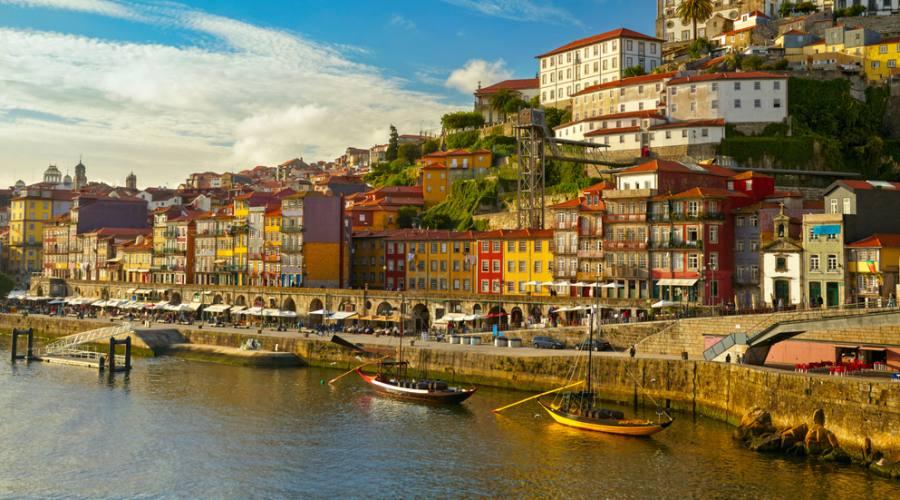 Porto, vista del centro storico