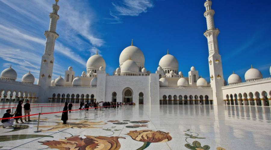 Abu Dhabi Grande Moschea