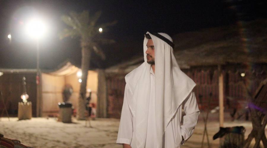 Abu Dhabi Safari nel deserto