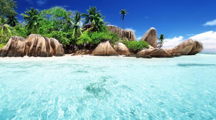 Seychelles La Digue Anse Sourse D'Argent