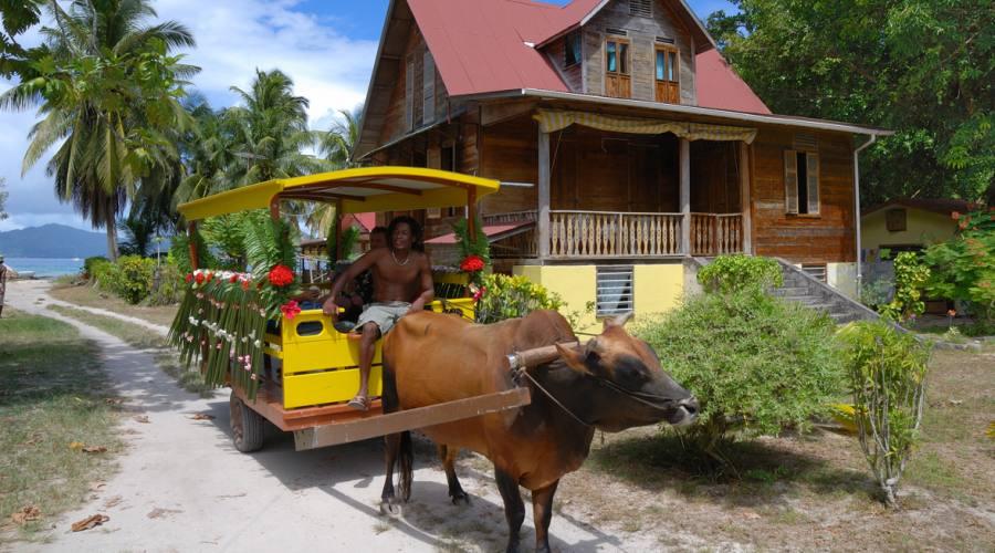 Seychelles La Digue Oxi Taxi