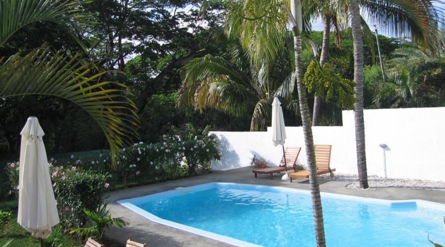 L'area della piscina