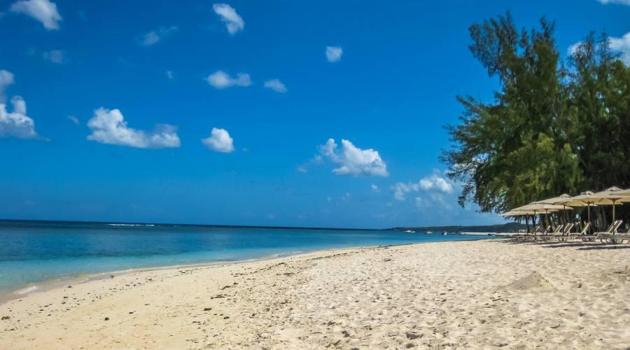 La spiaggia di Flic en Flac