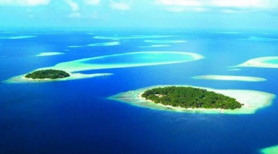 vista panorámica de la isla