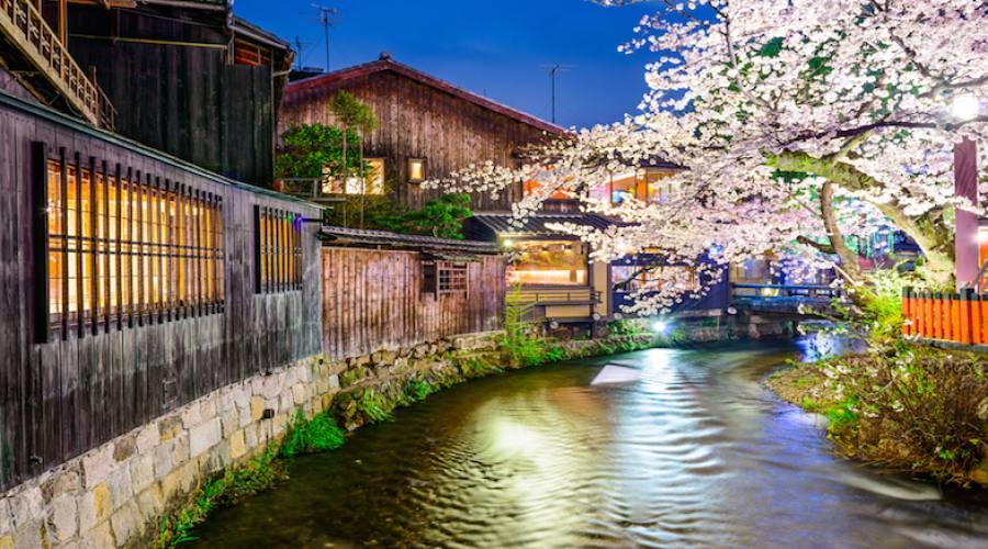 Kyoto - Lungofiume