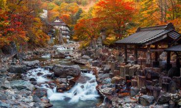 La via degli Onsen