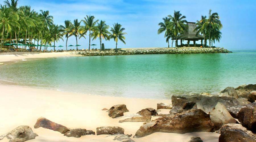 Shangri Là - Kota Kinabalu -spiaggia