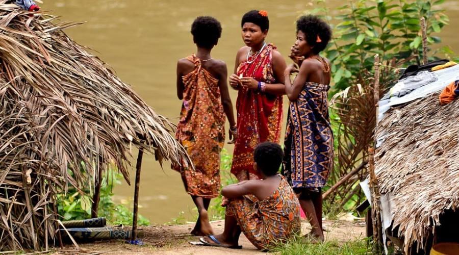 Indigeni della giungla malese
