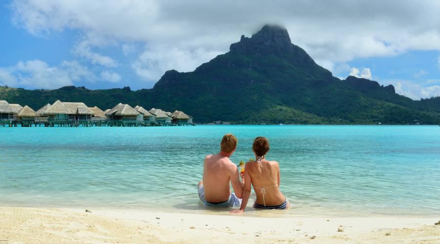 Panorama a Bora Bora