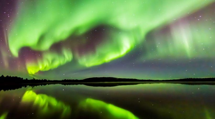 Aurora Boreale in Lapponia a Ivalo