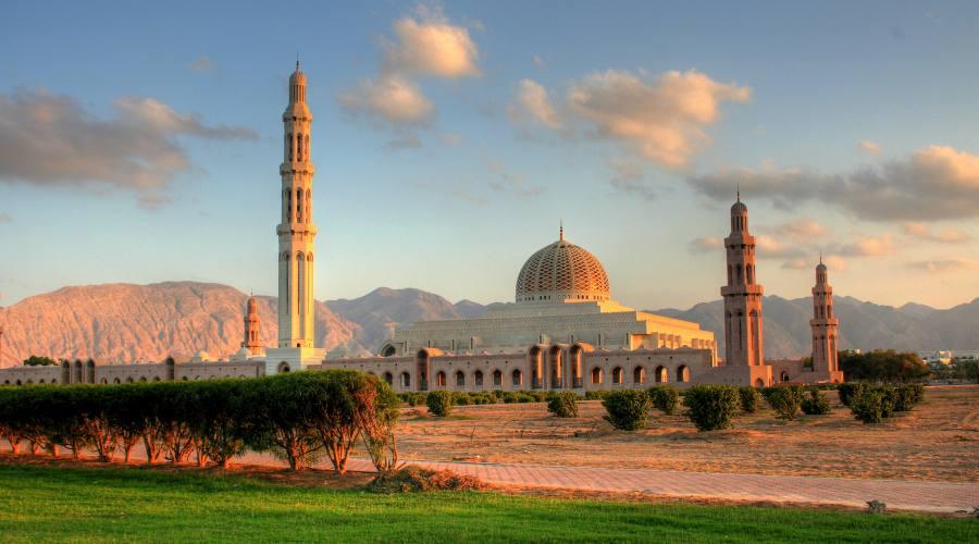 Muscat- La Gande Moschea