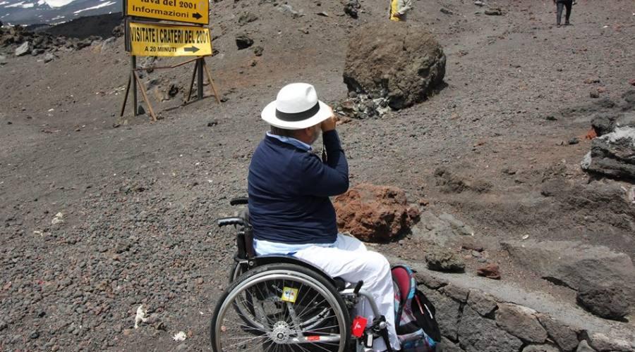 Escursione accessibile Etna