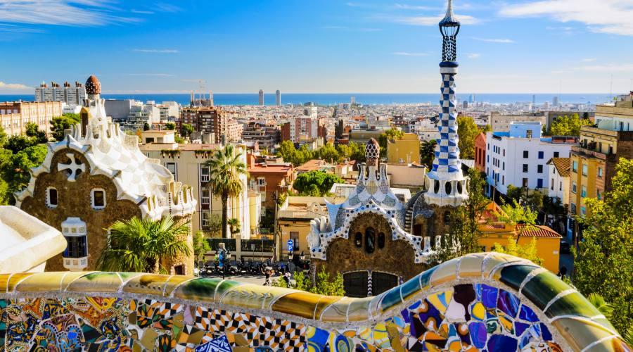 Barcellona, vista