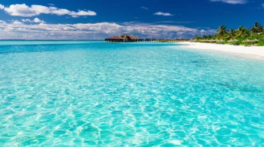 las aguas de la isla