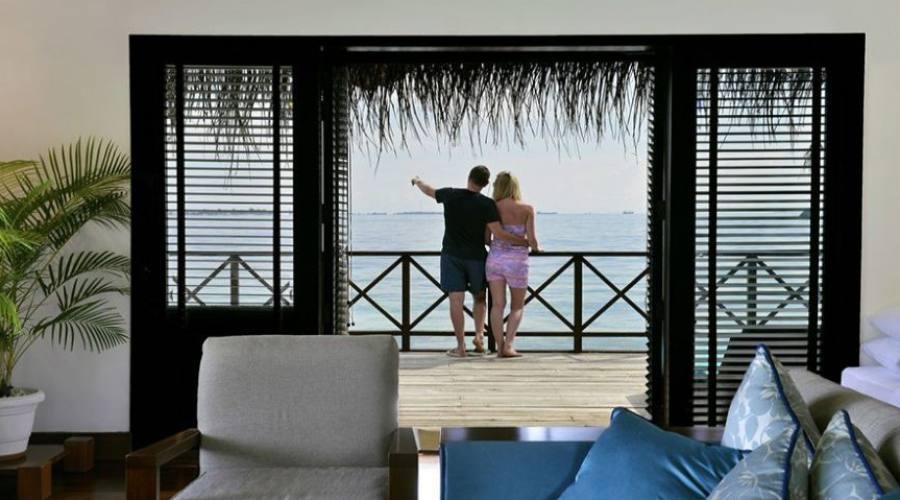 balcón de las habitaciones