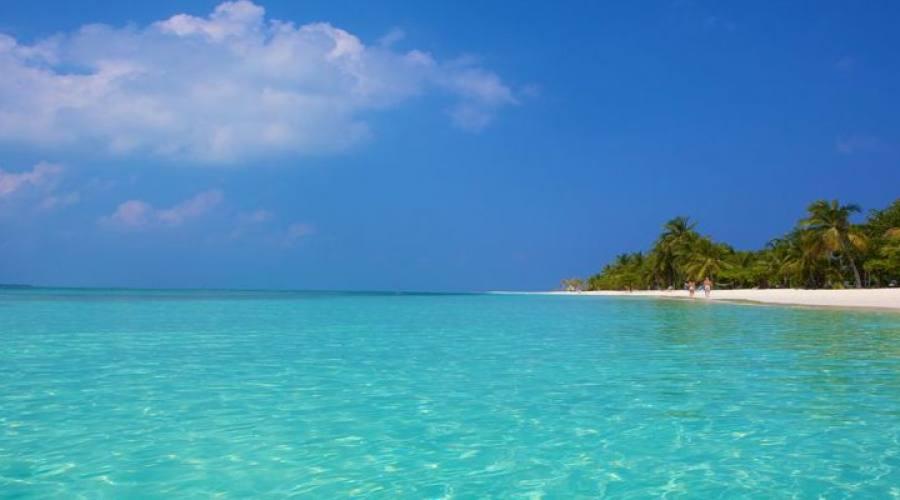 vista de la isla