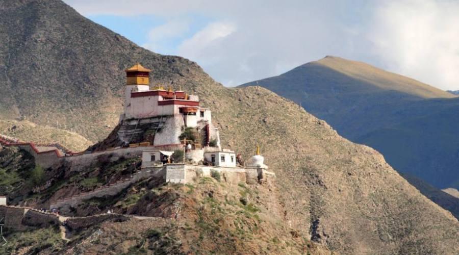 Vista del Tíbet