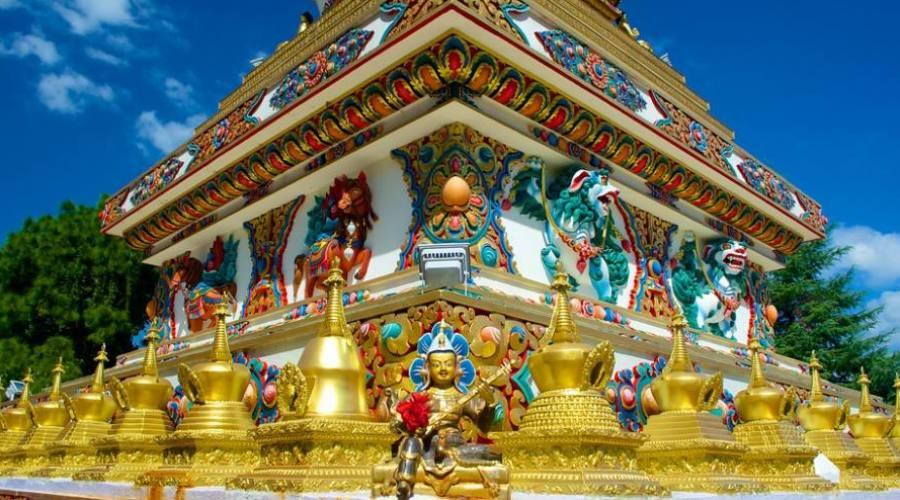 Stupa en Katmandú