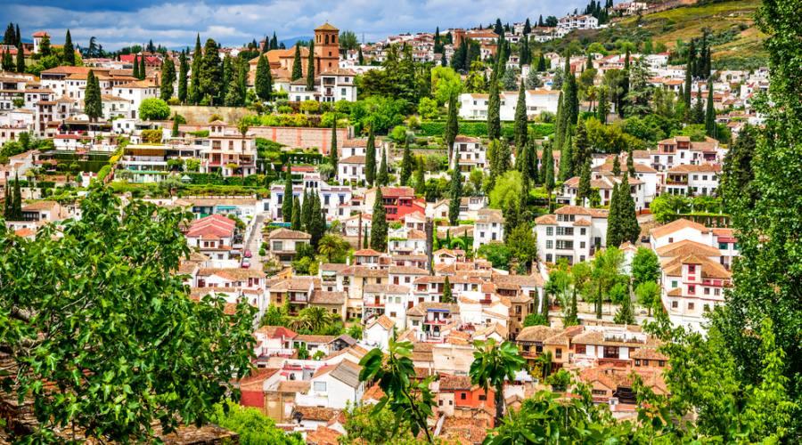 Granada, il quartiere medioevale