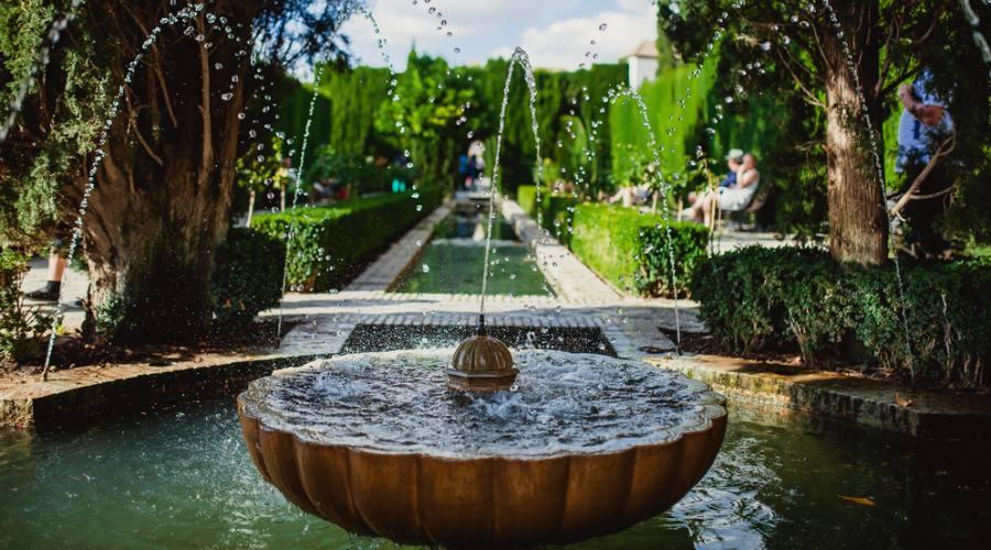 Granada, Giardini del Generalife