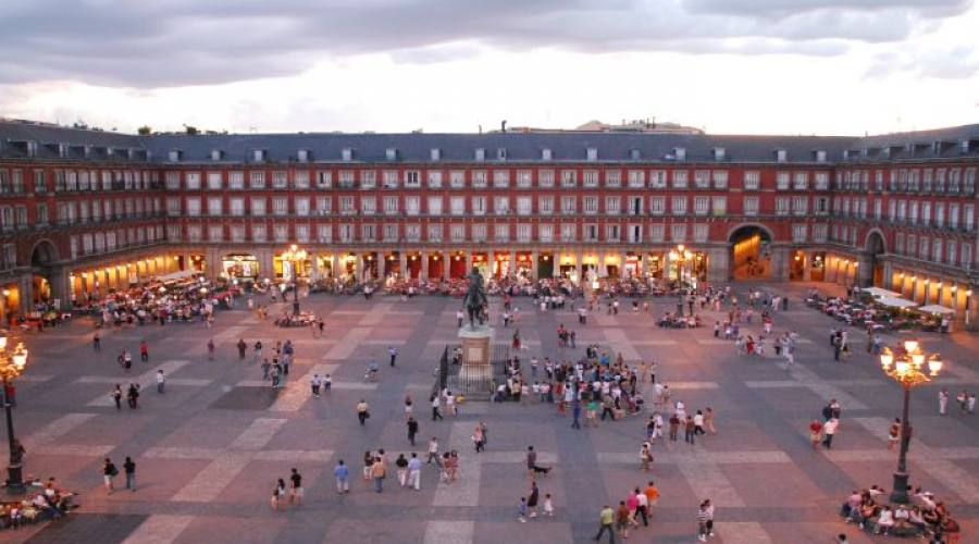 Madrid: Plaza Major