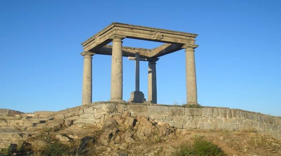 Avila: monumento de los Cuatro Postes