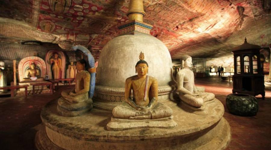 Dambulla: Templo