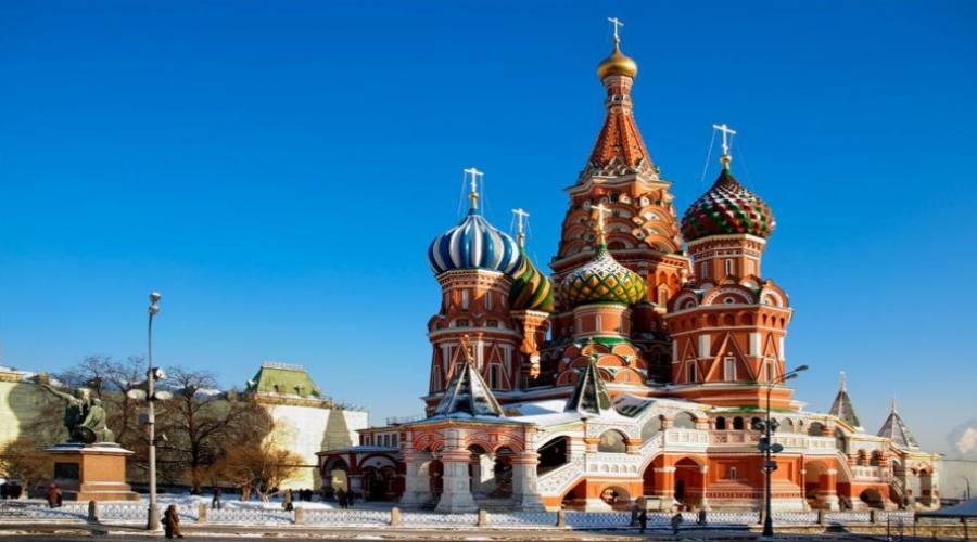 Mosca San Basilio e la Piazza Rossa