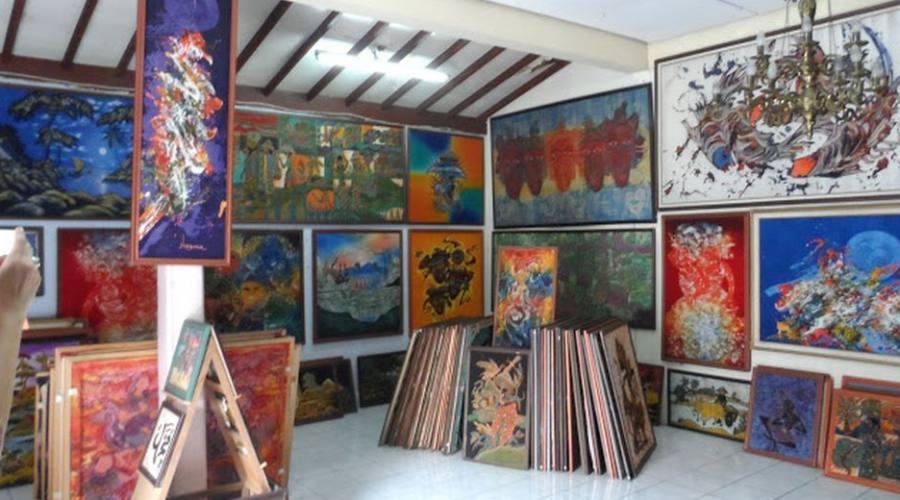 tradizionale industria di batik