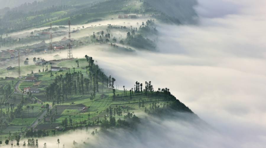 villagio cemoro lawang nella montagna dell bromo