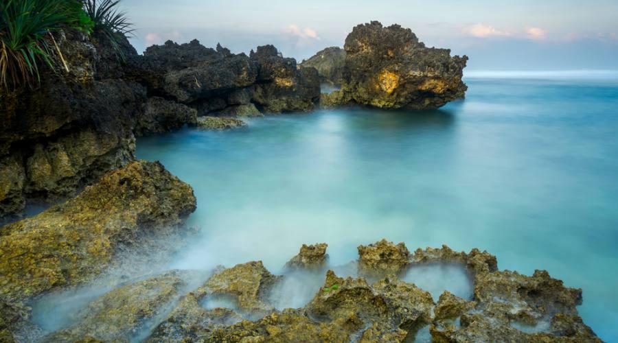 Costa marina della cittá di Yogyakarta