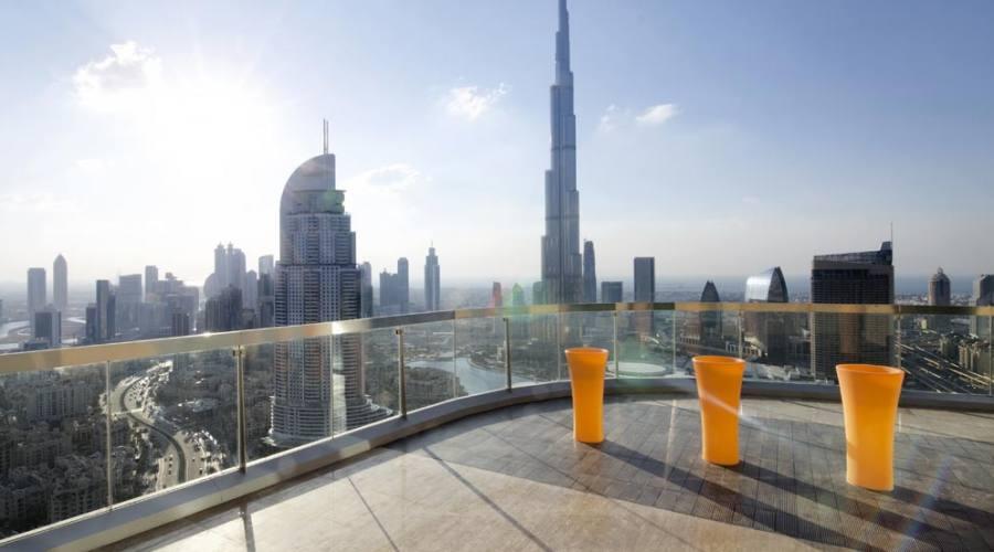 Burj Khalifa vista dal residence