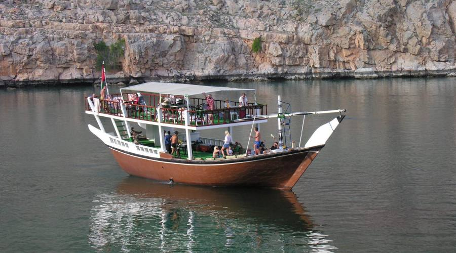 Dhow in Musandam