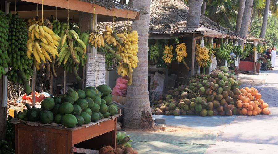 Salalah- mercato della frutta e verdura
