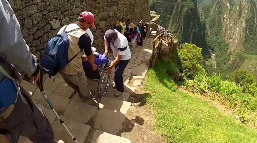 Assistenza per la salita al Macchu Picchu