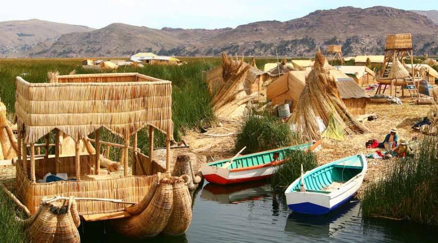 Lago Titicaca - Isole Galleggianti