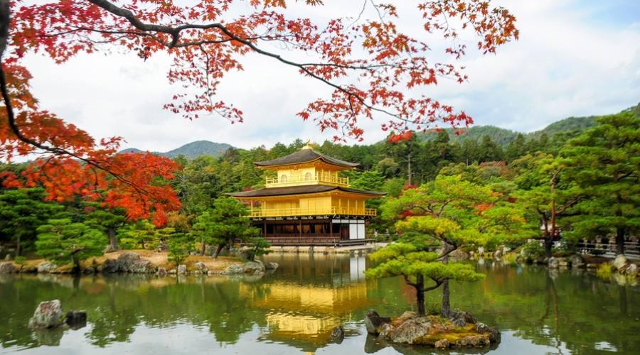 Kinkakuji Temple a Kyoto