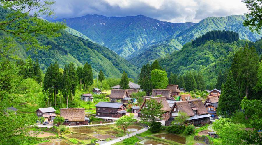 Il villaggio di Shirakawa, patrimonio culturale dell'Umanità