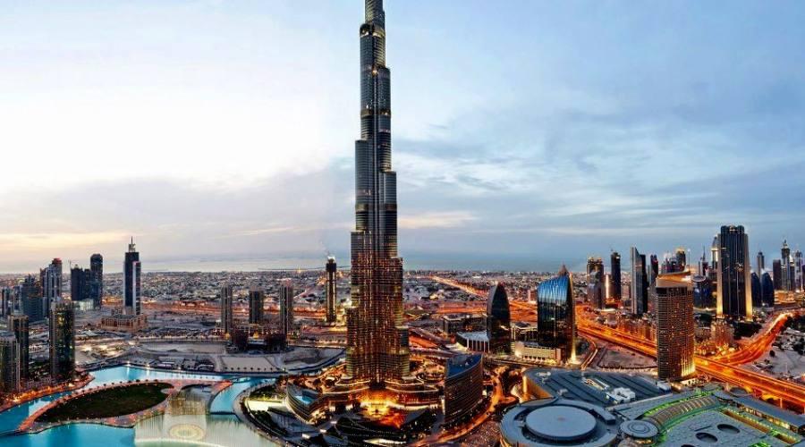 Dubai Fountain e Burj Khalifa