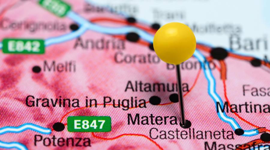 ...verso Matera