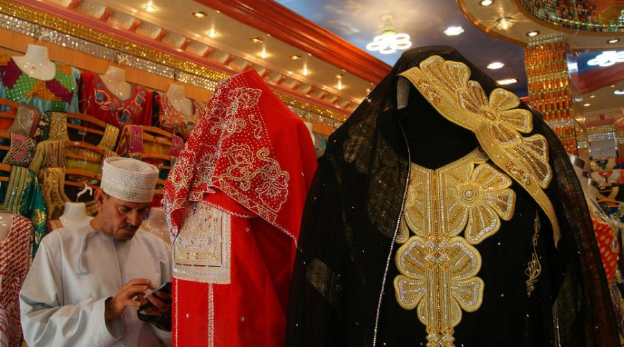 Lavori artigianali a Salalah