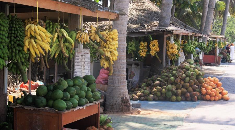 Mercato della frutta a Salalah