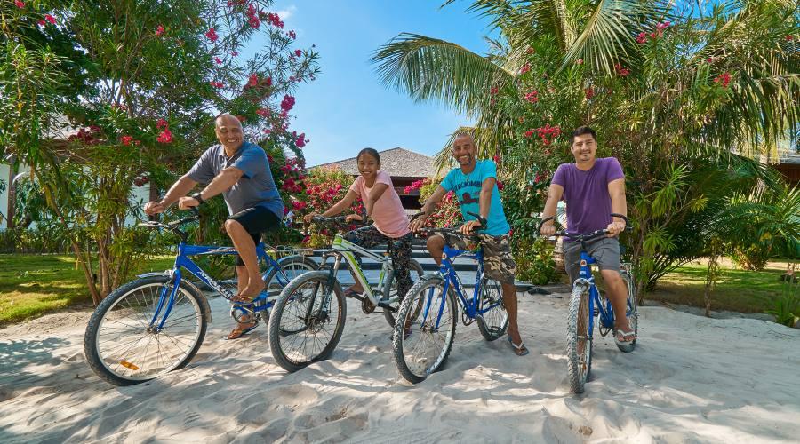 In bicicletta per il Barefoot